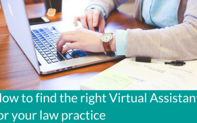 How to find the right Virtual Assistant for your law practice
